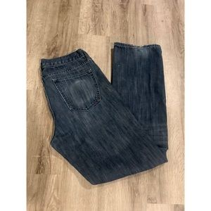 [Banana Republic] Straight Leg Dark Denim Jeans